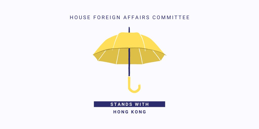"""Today, the world watches as Beijing's National Security Law goes into effect, challenging Hong Kong's autonomy.  The House Foreign Affairs Committee stands against the Chinese government's termination of the """"one country, two systems"""" arrangement, and w/ our friends in #HongKong. https://t.co/9b7lrYMtSc"""