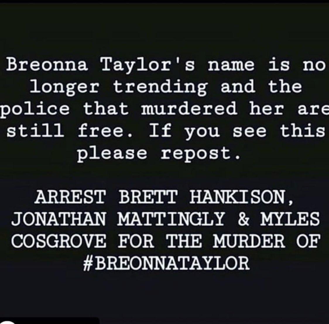 #BreonnaTaylor #JusticeForBreonnaTaylor #breonnataylorwasmurdered