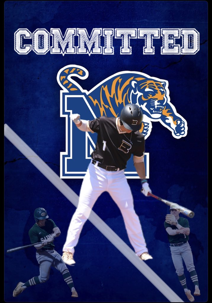 Extremely blessed to announce that I will be furthering my athletic and academic career at the university of Memphis!! I would like to thank my family, friends, coaches, and most of all God. Without Him none of this would be possible. GO TIGERS GO!🐯 901->901 https://t.co/dopzCgYsuK