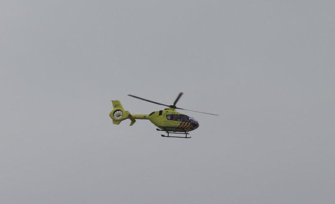 Traumahelikopter naar Monster in verband met een medische inzet bij bedrijventerrein. Meer informatie later https://t.co/eAkYyGnqVK