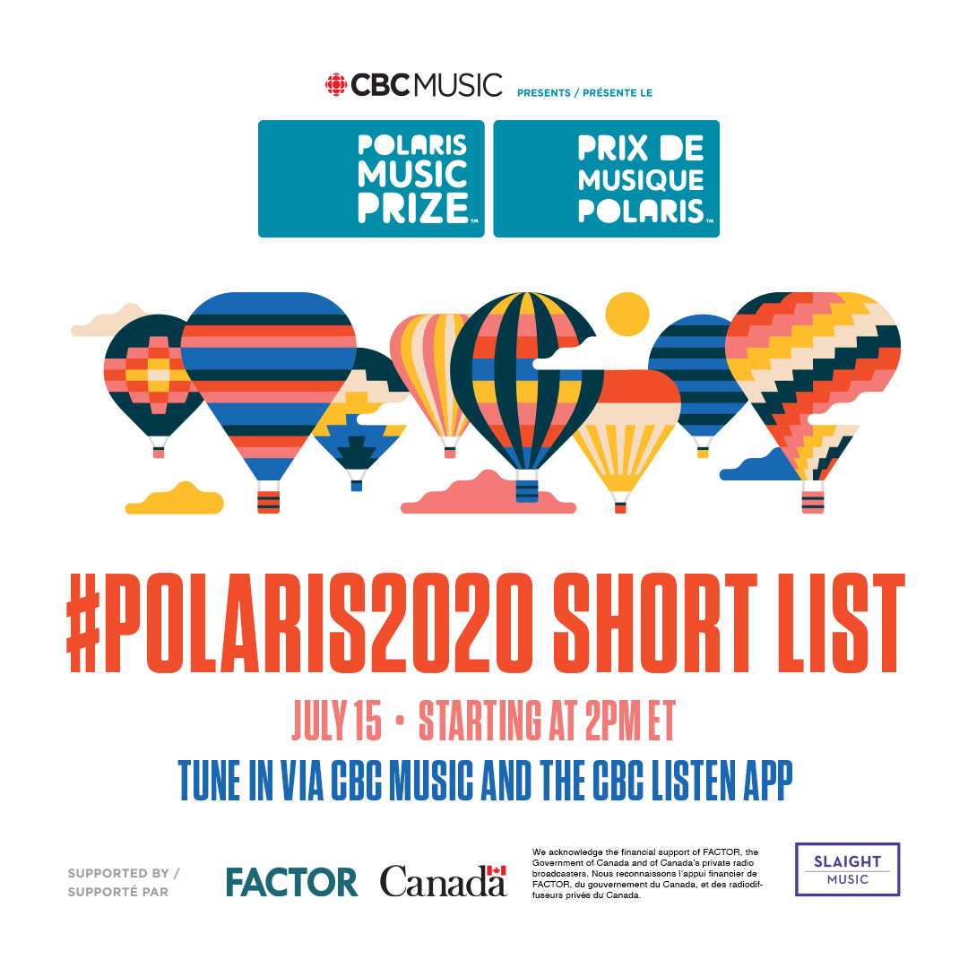 30 minutes until the #Polaris2020 #ShortList reveal. Listen to the live radio special on @CBCMusic and the CBC Listen app. https://t.co/166DQ71Aym https://t.co/hW2oKBW8vb