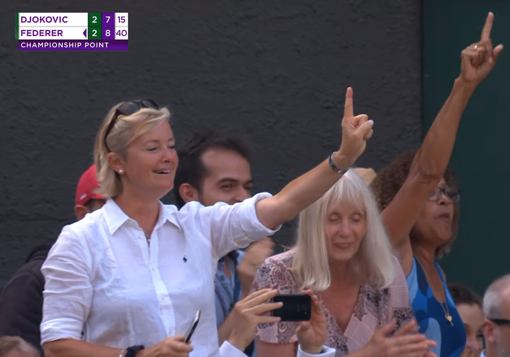 Bish, it's been a year...still no word on the lady? The internet has failed.  #Wimbledon2019 https://t.co/NGasGZ1PST