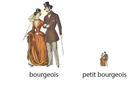 Le Petite Bourgeoisie
