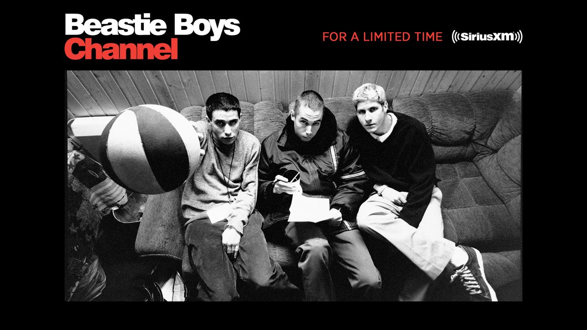 The Beastie Boys Channel is now a thing on @SIRIUSXM. It begins today at 12pm ET. Listen for a limited time: https://t.co/374VdumAFD https://t.co/dtfHqwsx81