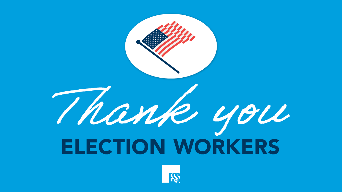 Thank you to everyone who supported yesterday's elections! You all play a vital role in our democracy. https://t.co/KQvbOHyCVD