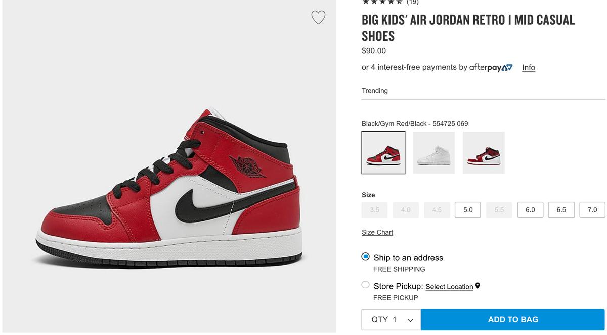 Sole Links On Twitter Ad Last Sizes Gs Air Jordan 1 Mid