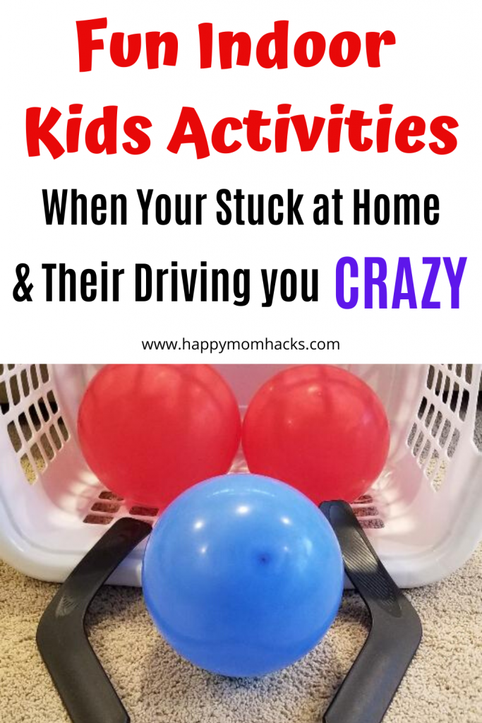 Fun Indoor Games for Kids when its too hot to be outside. #indoorgames #kidsactivities #actvitiesforkids #kidsgames #stuckathome #kidsathome #SummerHeat buff.ly/2CDL6wf