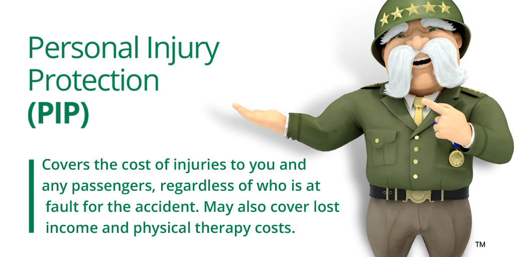 PIP and medical payments coverage are similar types of insurance, but did you know that PIP may also cover lost income or therapy costs stemming from an accident? Want to see review your options? Visit The General Insurance here:  #RideWithTheGeneral