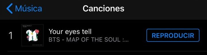 RT @BeyondTheSea613: iTunes Argentina 🇦🇷  #1. Your Eyes Tell (=) 24 horas en el no.1!!! 🔥  @BTS_twt #YourEyesTell https://t.co/pRhovG2Yx8