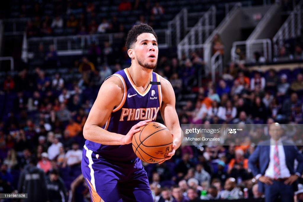 #SunsFacts: The @Suns have finished 1st in team FT% three times in their history ('71-'72, '05-'06, and '06-'07).  The Suns are currently 1st in the @NBA, shooting 82.6% from the line. That is 1.7% ahead of the 2nd place Spurs.  #GoSuns #RisePHX #ShootLightsOut https://t.co/n2qIj5s0KE