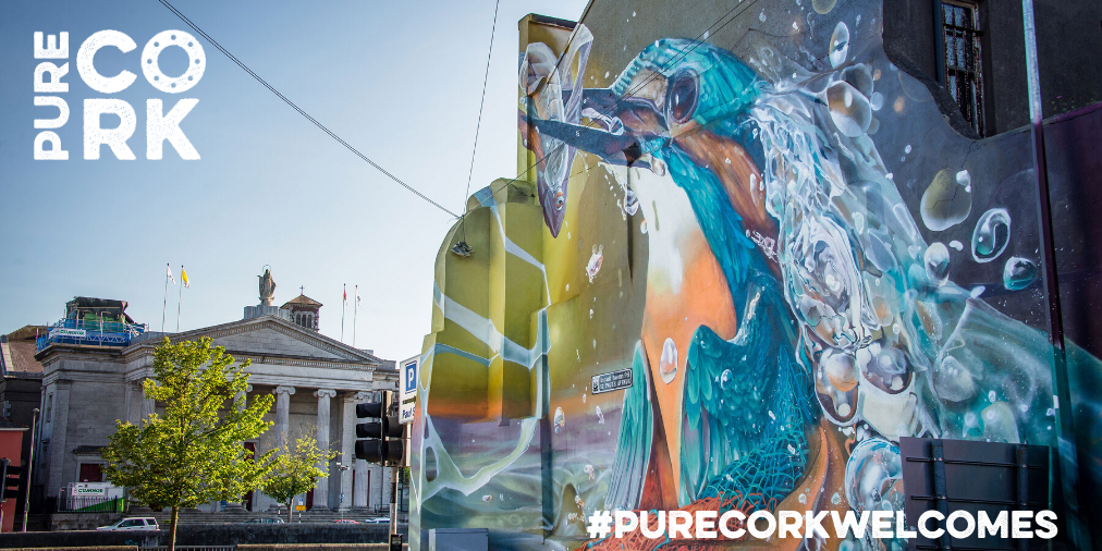 #Cork City is one of Ireland's most friendly and welcoming cities and retains the pleasant charm and friendliness of a country town. Experience a #PureCorkWelcome when you visit us on your #staycation this year. @pure_cork https://t.co/4TgX86y60H