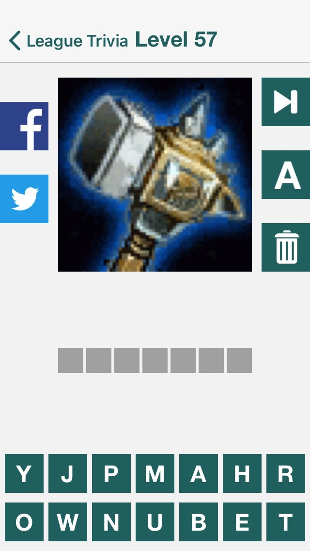 Can anyone tell me which champion this is? #LeagueTrivia #iOS #Trivia https://itunes.apple.com/app/id955369759 pic.twitter.com/TEMbDweN8h