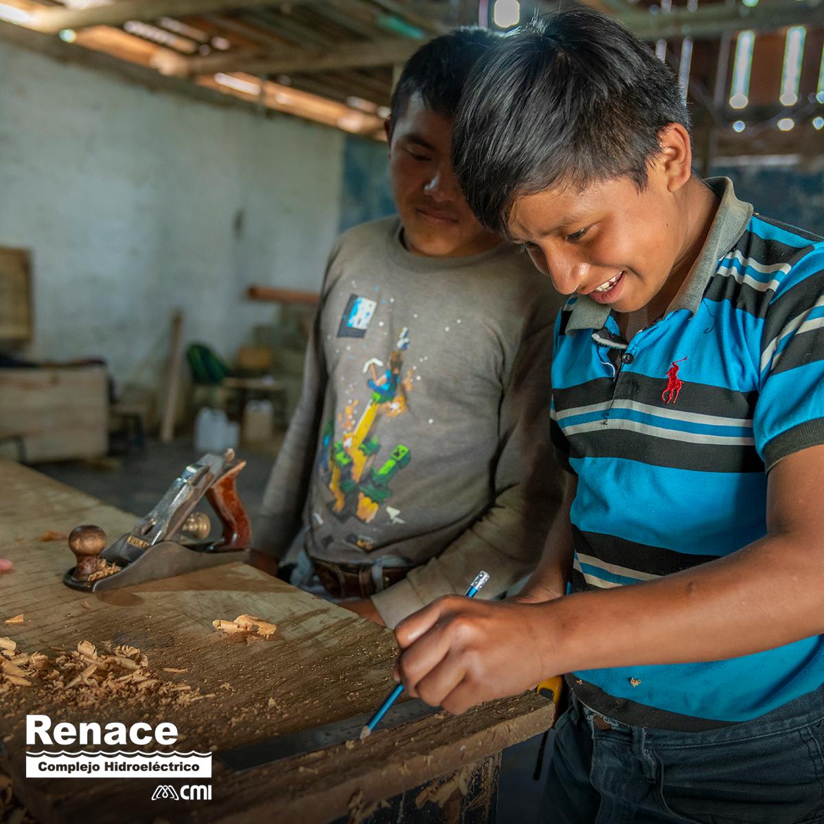 Renace genera espacios para que los jóvenes maximicen sus habilidades y las conviertan en herramientas que mejoren sus condiciones, a través del Programa de Desarrollo Social Sostenible Formación para la Vida. #DíaMundialDeLasHabilidadesDeLaJuventud https://t.co/HrJoCfp3iD