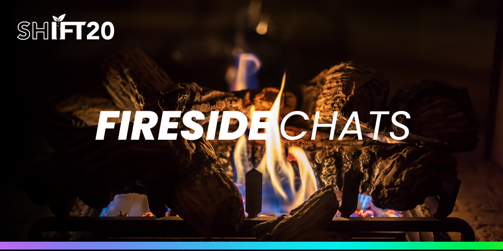 """""""Fireside Chat: The Potential of Artificial Intelligence to Transform the Food System"""" is starting! Get your questions ready and join us now: https://bit.ly/2ZuLBlf #SHIFT20pic.twitter.com/h6s2INqf5G"""