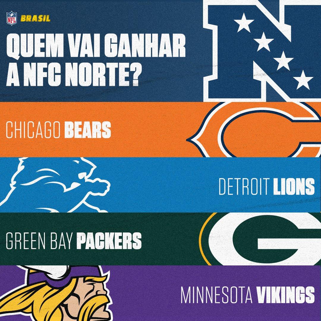 2017: @Vikings 2018: @ChicagoBears 2019: @Packers 2020: 🤔  Quem será o campeão da NFC Norte em 2020? Responda com um GIF! 👇 #NFLBrasil