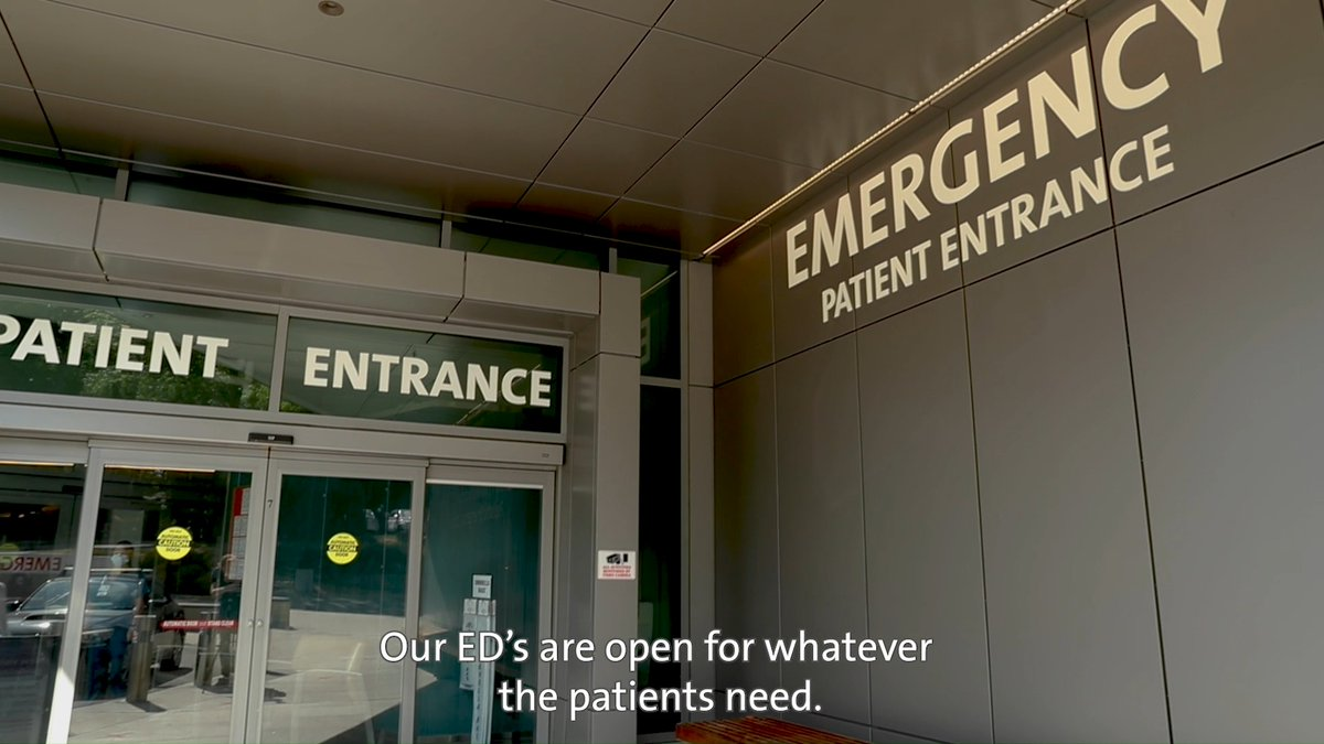 🚑 Get an inside look at our emergency departments—and the many precautions we're taking to keep patients safe. https://t.co/ucvSbntay5