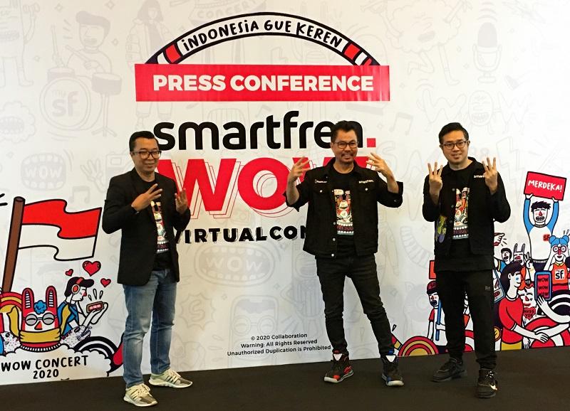 Smartfren WOW Concert 2020 digelar pakai Extended Reality https://t.co/S3lavHLmHY https://t.co/Y1M2CveM8b