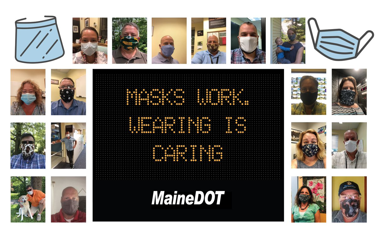 Image posted in Tweet made by MaineDOT on July 15, 2020, 4:15 pm UTC