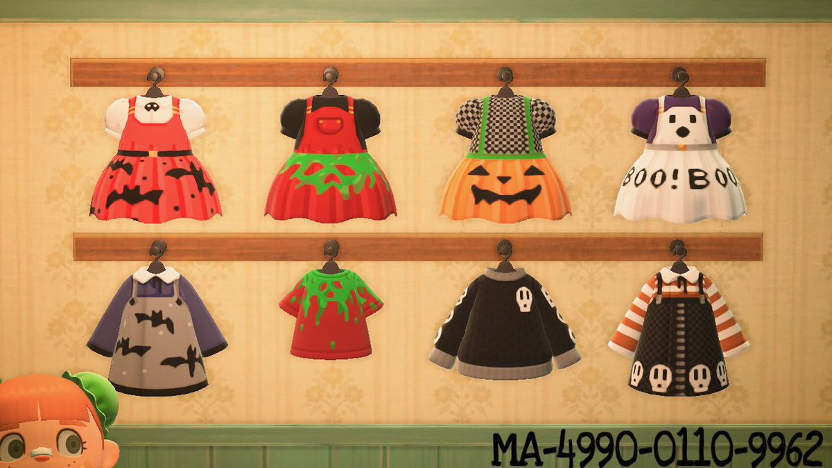 HAPPY HAUNTS COLLECTION!!  Everyday is Halloween if you want it to be!! #ACNHDesign #ACNH  #ACNHDesigns<br>http://pic.twitter.com/glkxXypihR