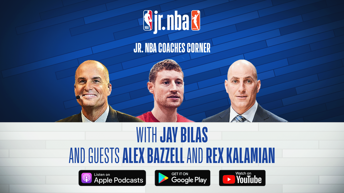We've been working with @jrnba on the debut series of the Jr. NBA Coaches Corner podcast with @JayBilas. Check out Ep. 9 on skill development with @LAClippers coach Rex Kalamain and @NBA trainer @alexbazzell24 here- https://t.co/LyQ5GYjyWi #kemperlesnik #jrnba #podcasts https://t.co/jjzi1r7ges