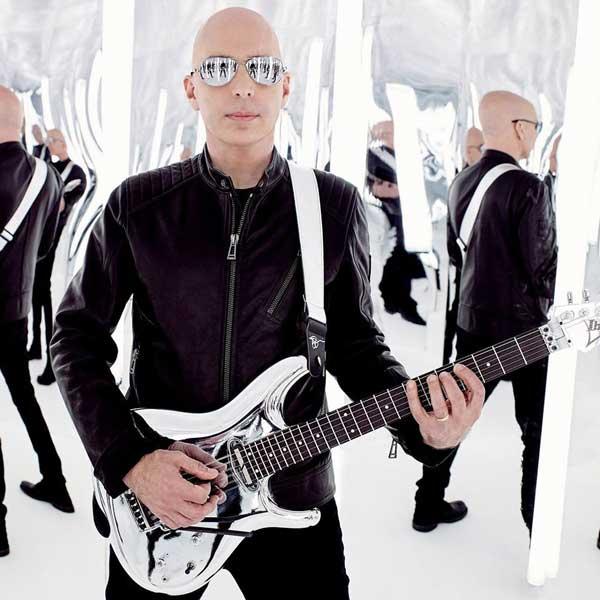 Happy Birthday, Joe Satriani - Joe Satriani Ibanez JS1CR \Chrome Boy\