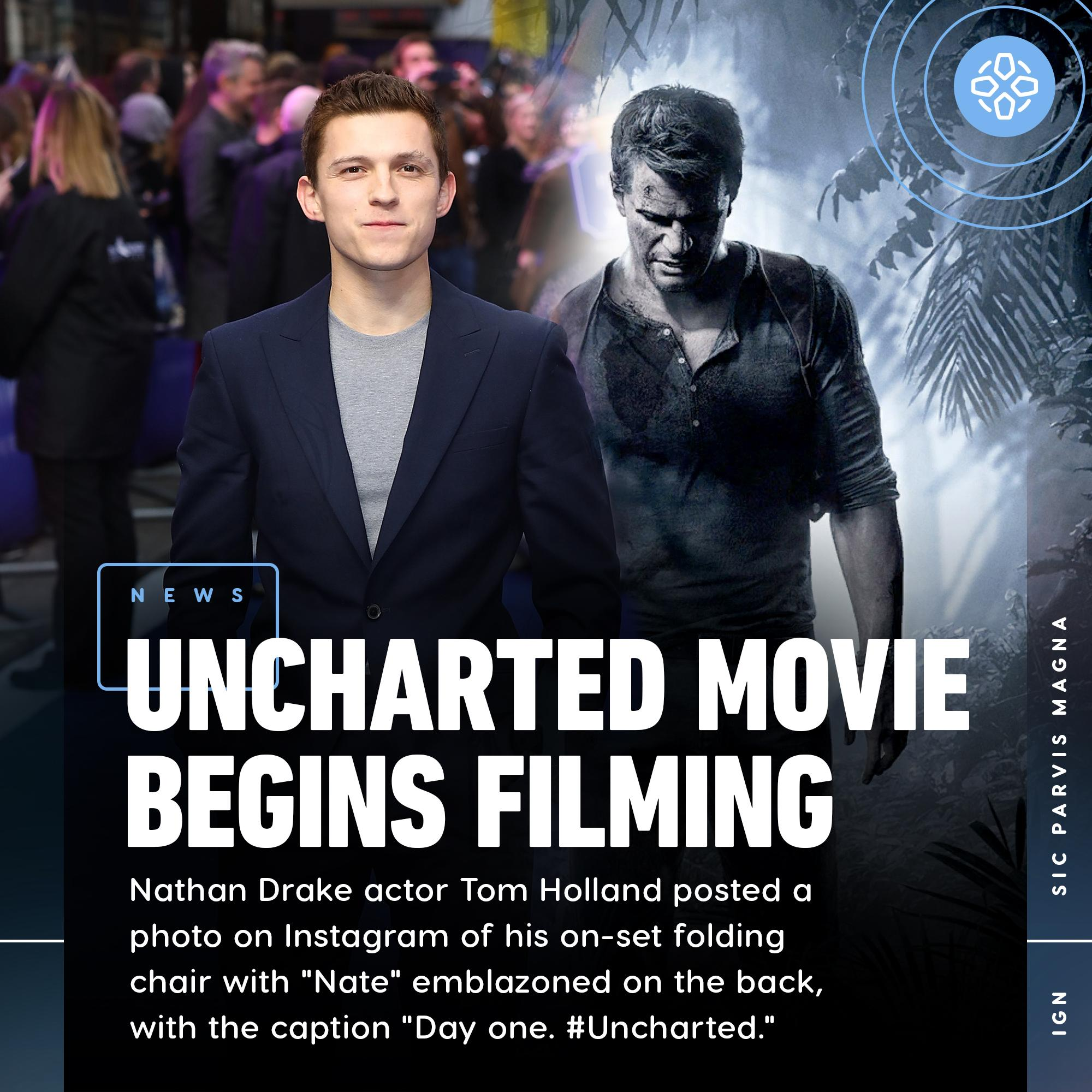 Ign On Twitter The Uncharted Movie Has Entered Production With