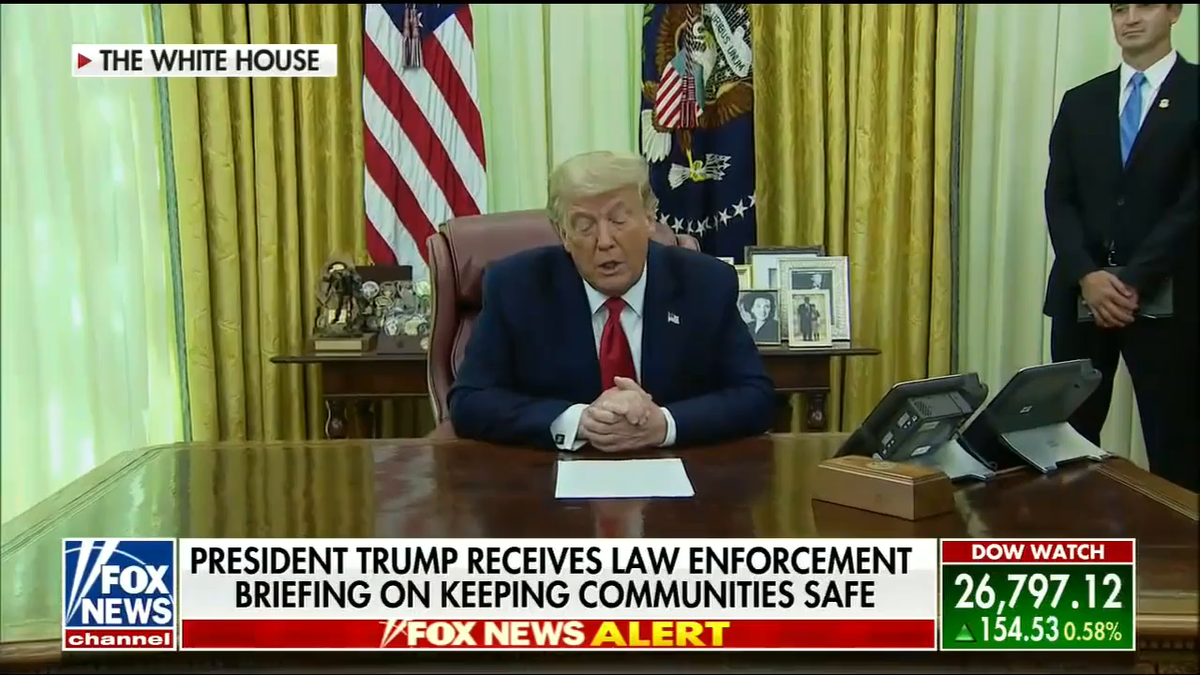 "President @realDonaldTrump: ""We've just concluded a historic operation leading to the arrest and indictment of dozens of savage MS-13 members and leaders all across the country."" https://t.co/vnVfiAjYra"