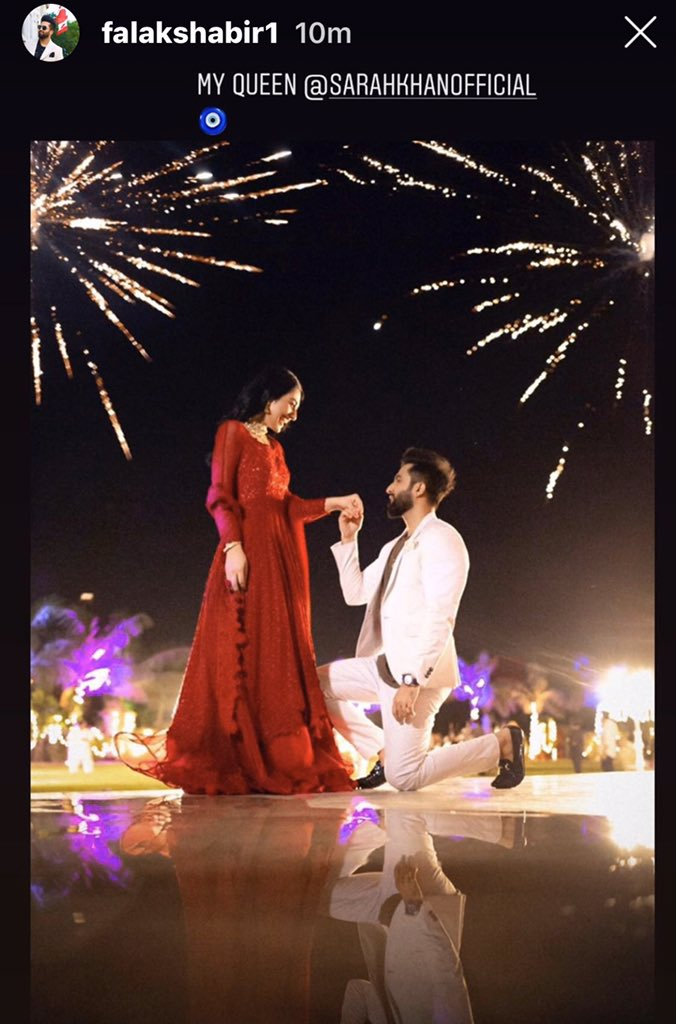 It's confirmed that Actress Sara Khan is getting married to Singer @FalakShabir1 tomorrow. Best wishes to the couple #FalakShabbir #sarakhan #lollywood #pakistanicelebrities #love #pakcelebz #Entertainmentpic.twitter.com/1lEoGcd46O
