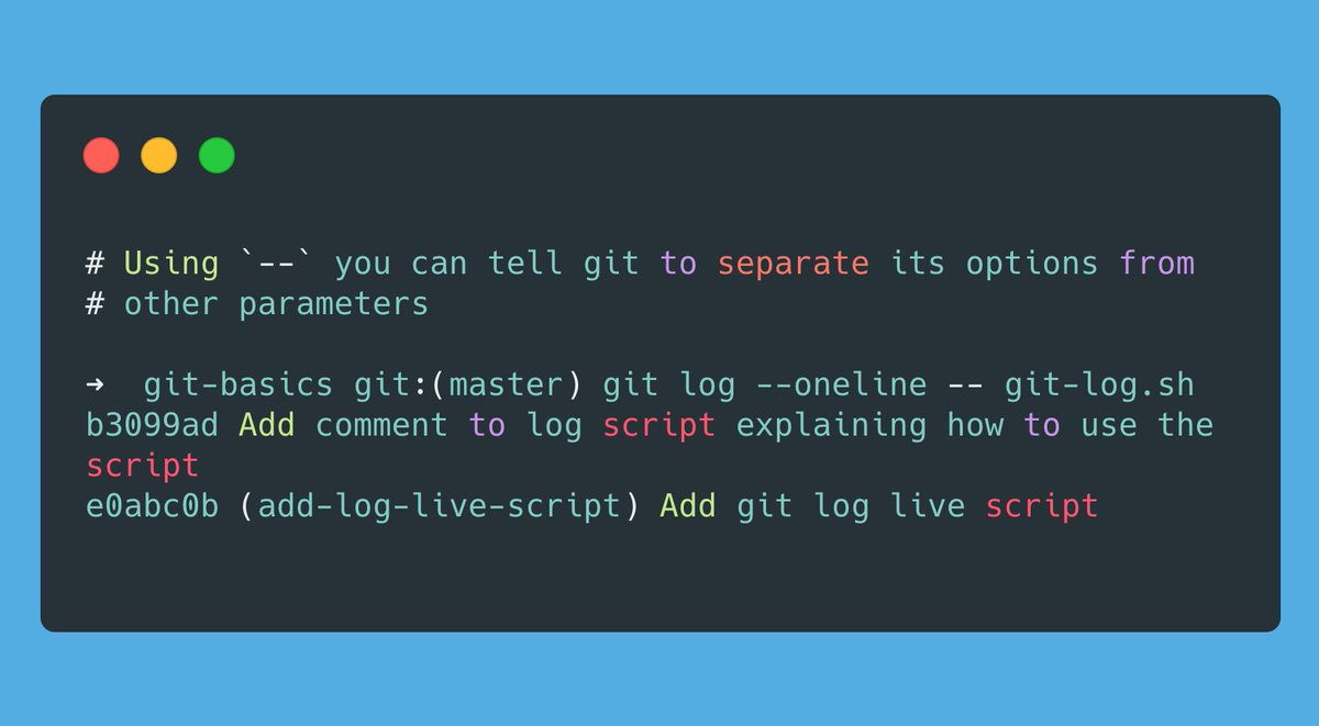 Git Tips  Here is one really cool shortcut to get commit history log for a specific file  #Git #100DaysOfCode #codinglife pic.twitter.com/YpwSk2BB99