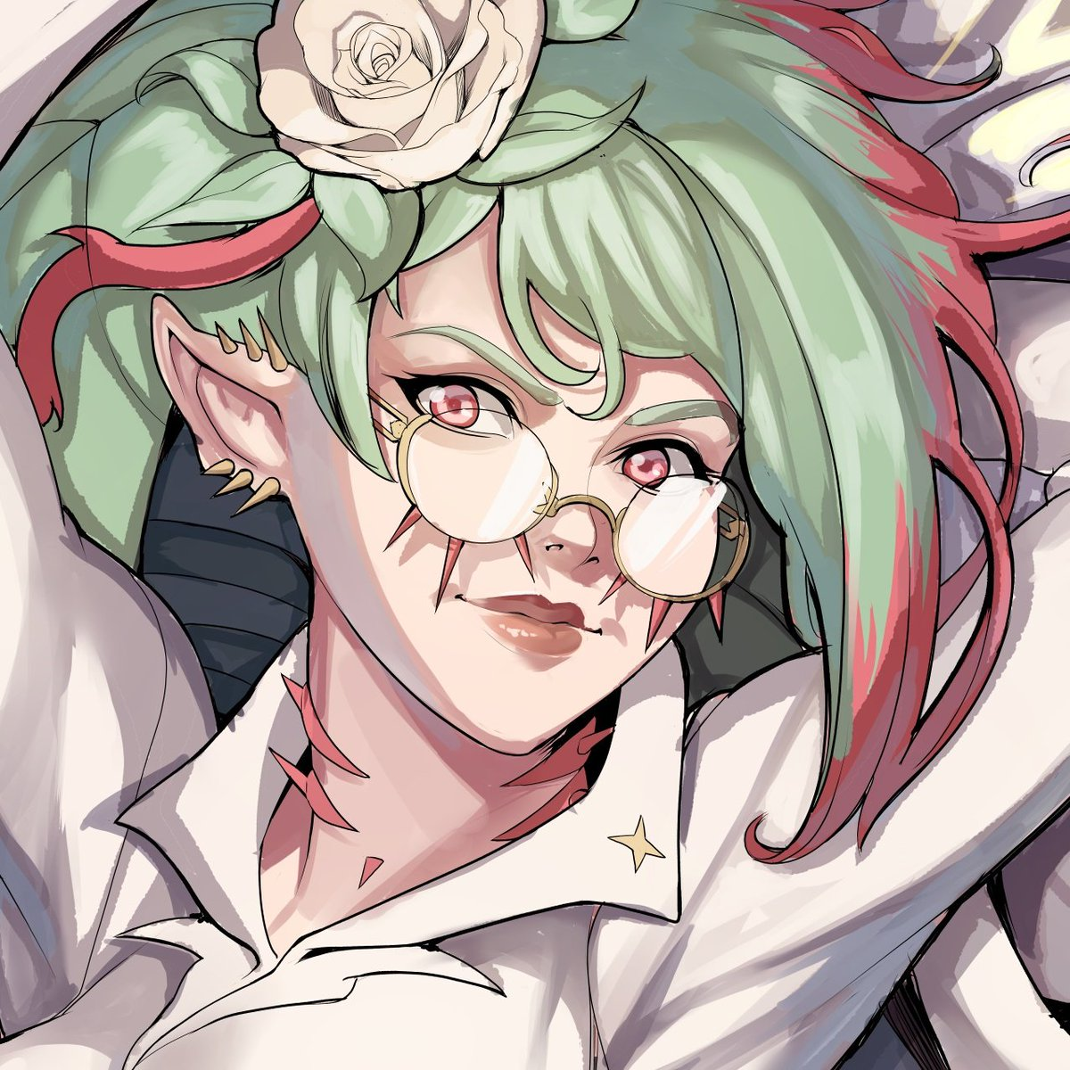 Rozsika  Commission for @Kuzfo  #artistsontwitter #animedrawing #animesketch #animestyle #art #character #characterart #characterconcept #characterdesign #conceptart #drawing #arte #illustration #manga #commissionsopen https://t.co/WclcT2VEkB