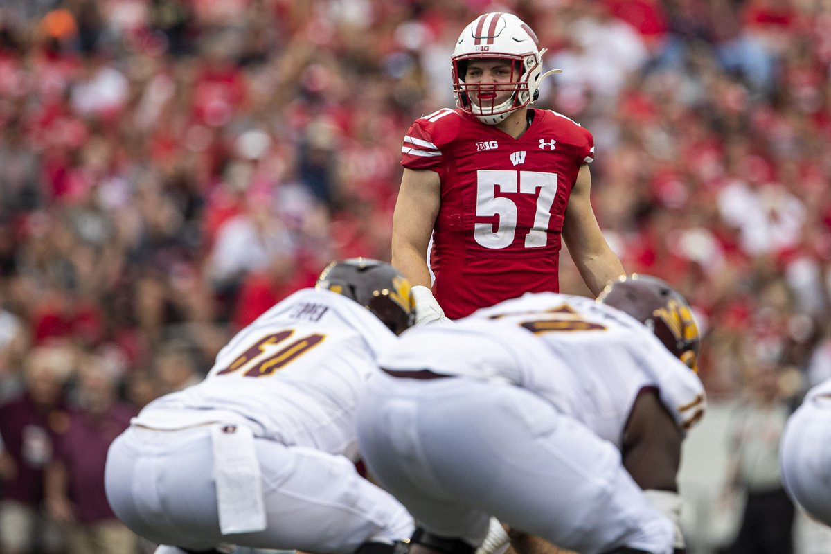 Wisconsin #Badgers football: Jack Sanborn continues to get preseason accolades  The junior LB is on the Bednarik Award watch list. https://t.co/SF8wIsWY1B https://t.co/uVNopVrdhm