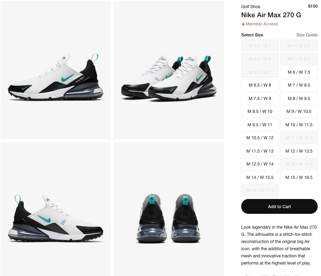 Sole Links On Twitter Ad Restock Nike Air Max 270 G Dusty Cactus Https T Co Njeitubgbq Https T Co Njeitubgbq