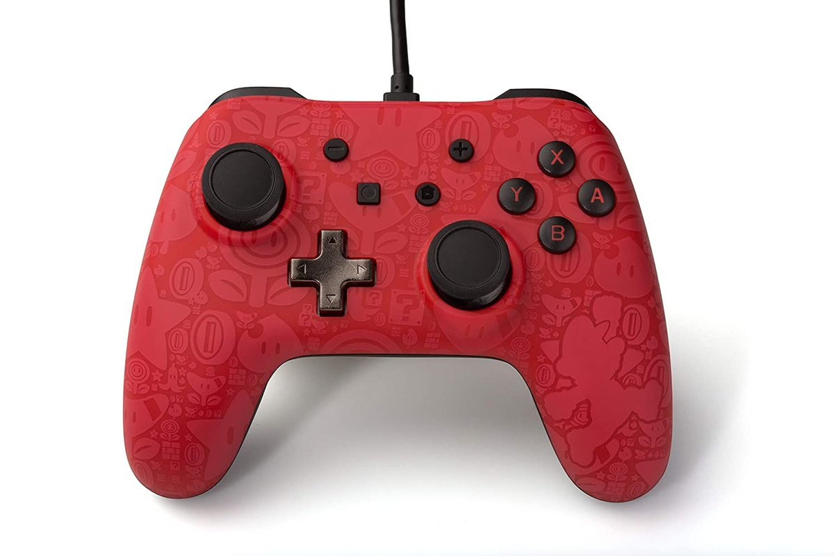 Wired Nintendo Switch Controller for $14.99, 40% off!     https://amzn.to/2WdOSU6pic.twitter.com/PBKTtvQcoL