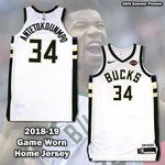 Image for the Tweet beginning: 2018-19 Giannis Antetokounmpo Milwaukee Bucks