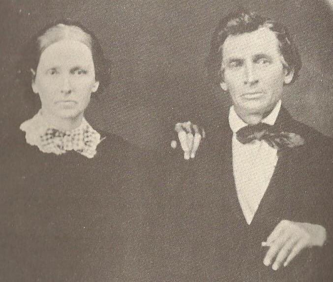 Arabella Mason Rudolph (left), mother of Lucretia Rudolph Garfield and mother-in-law of James A. Garfield, died #OnThisDay 141 years ago: Jul. 13, 1879. Her husband Zeb (right) soon moved into the Mentor, OH home of their daughter & son-in-law. #FindYourPark