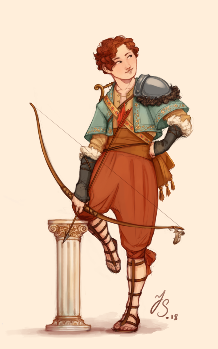 an old #characterdesign, his name is Robin https://t.co/e5dTtt6zgo