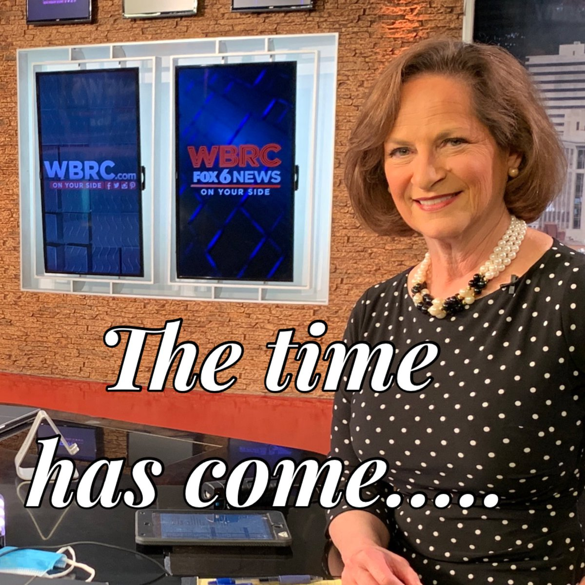 After 40 wonderful years @WBRC I'll be retiring at the end of August. It's a tough decision to leave the co-workers and viewers I love but it is time to open myself to new adventures. But, I ain't gone yet! Stay tuned for a long goodbye this summer. pic.twitter.com/JKTM8GGo4u