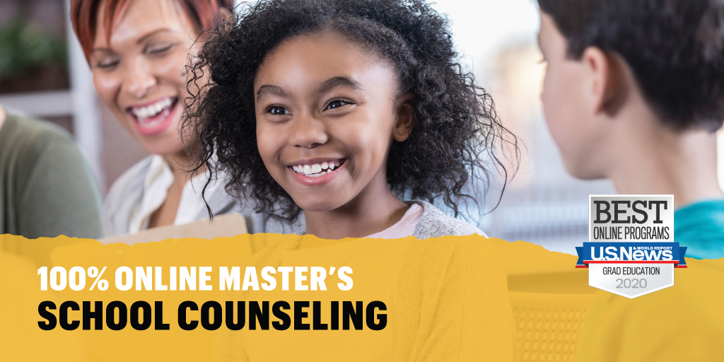 Get equipped by expert faculty to keep up with the needs of the youth. Earn your #OnlineStripes 100% online with a master's in #schoolcounseling from #Mizzou.  http://online.missouri.edu/degreeprograms/education/school-counseling/masters/…pic.twitter.com/XfFUrDrUOR