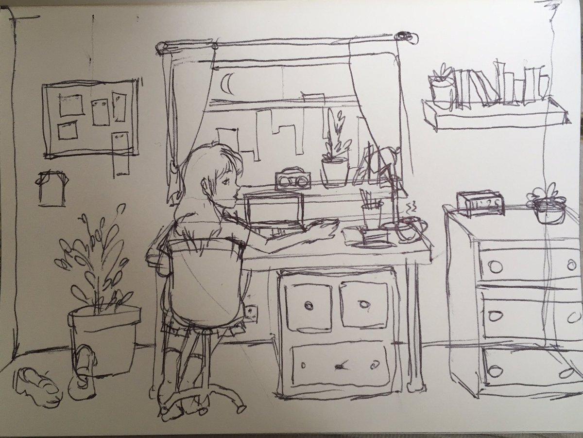 sketch 👀👀👀👀 #artistsontwitter #sketch #sketchbook #artwork https://t.co/eu0LHEiD6r