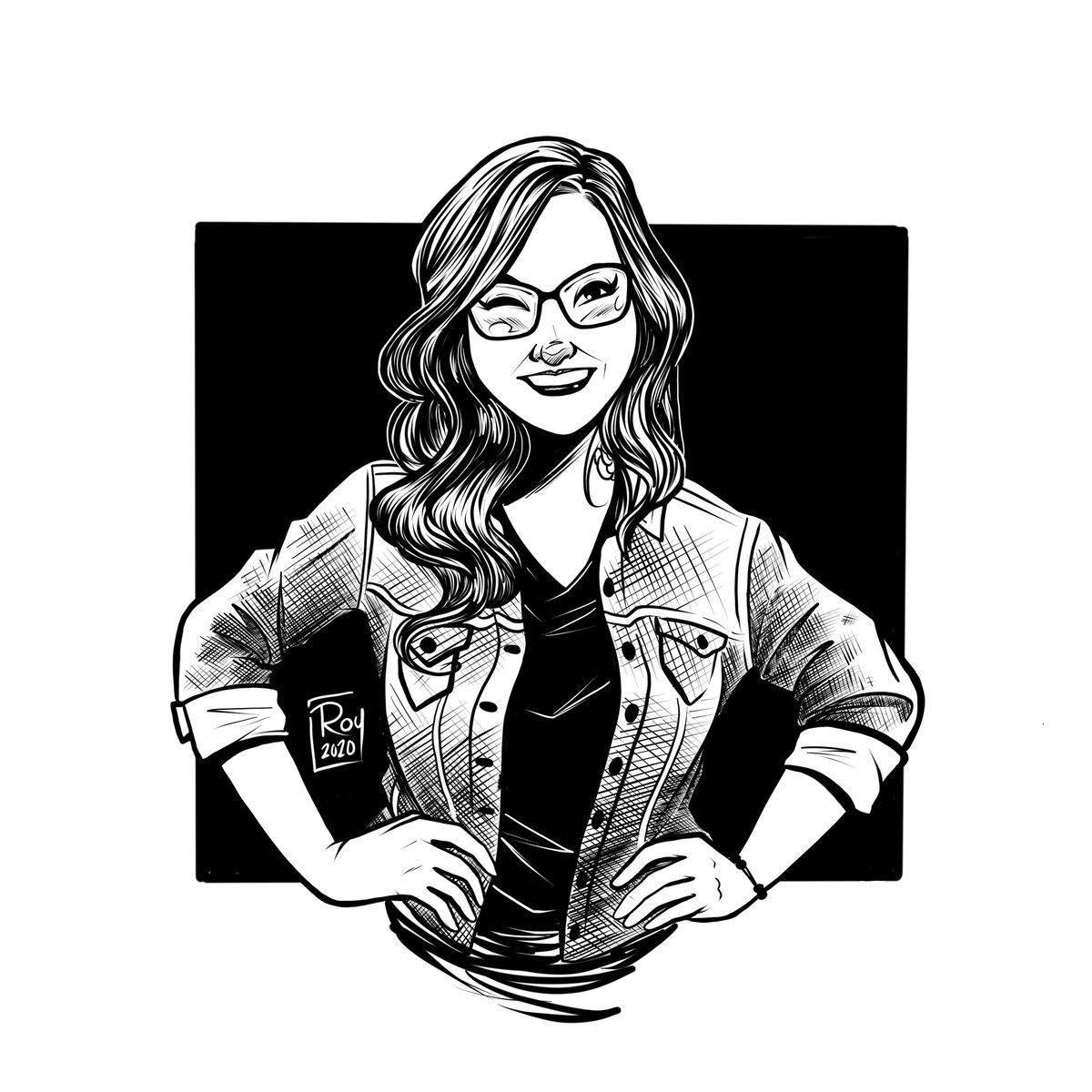 @Dany_Kino   #sketch #blackandwhite #digital #procreate #hatched #illustration #danykino #geekgirl #techie https://t.co/grzBRrhovJ