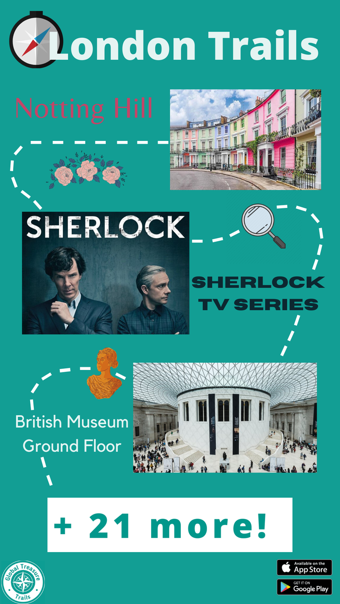 Are you a #Sherlock fan? How about #HarryPotter? Or, are you an #ArtLover? #History buff? #Literature geek? #Nature enthusiast?  Whatever your cup of tea is, you'll be sure to find a tour for it on our free, trivia-based app!  https://apps.apple.com/gb/app/global-treasure-apps/id524325243…… https://play.google.com/store/apps/details?id=com.saintedmedia.globaltreasureapps&hl=en_GB…pic.twitter.com/GRY4Ia6r31