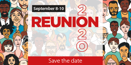 This year, #AnnualReunion2020 will be taking place virtually, from September 8-10 🥳 We are working hard to bring you a series of virtual events, which you can take part in from the comfort of your own home! https://t.co/UhOhAQQy13