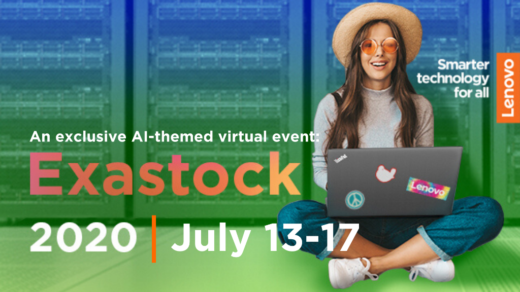 Exastock is going to be groovy, ya'll. Join us over the next five days for an ultra-exclusive, ultra-hip look at what's next in high-performance computing (HPC). @Lenovo, @NVIDIA and @Intel will share a far-out look: https://t.co/J5vuxFf2OK. #Lenovo #Webinar #Exastock https://t.co/KZnEWtFZvD