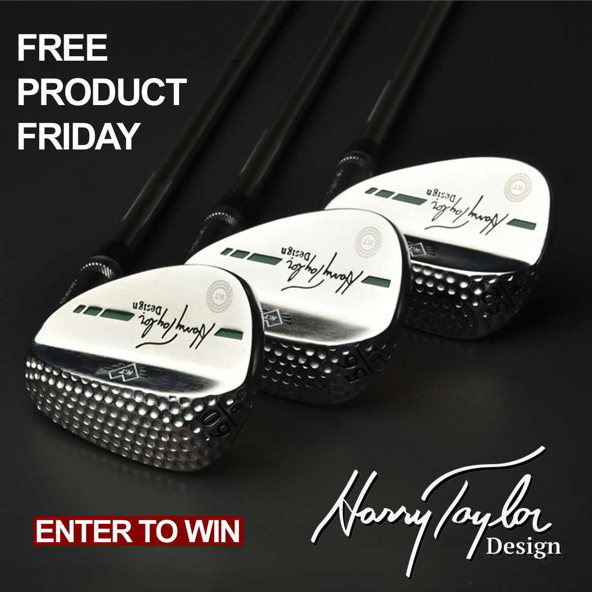 Enter today for a chance to win three (3) wedges from Harry Taylor Golf for our Free Product Friday giveaway.  Good Luck.  #Win #Golf #Wedges #Free #Product #Friday #MoreGolfToday #ClickitGolf  ENTER HERE:  https://t.co/H4FxSrj18p #Win #Golf #Wedges #MoreGolfToday #ClickitGolf https://t.co/RlupLst3a7