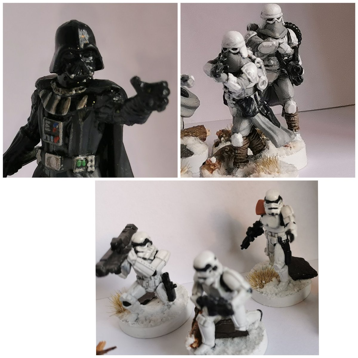 #starwarslegion #imperials #miniatures #painting #fantasyflight #fiverr #painter4hire I'm on fiverr as painter4hire https://t.co/ws8NwjtQLj