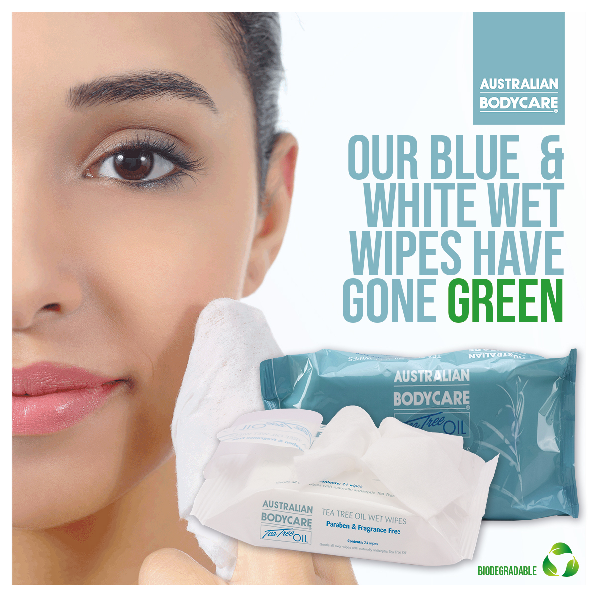 Our Tea Tree Oil infused Wet Wipes are perfect in the #salon and at #home for cleansing and hygiene. Now we've upgraded them to a biodegradable formula giving the same great performance in a more environmentally conscious way! https://soo.nr/ZuAE   #australianbodycarepic.twitter.com/TEbxUXksOq