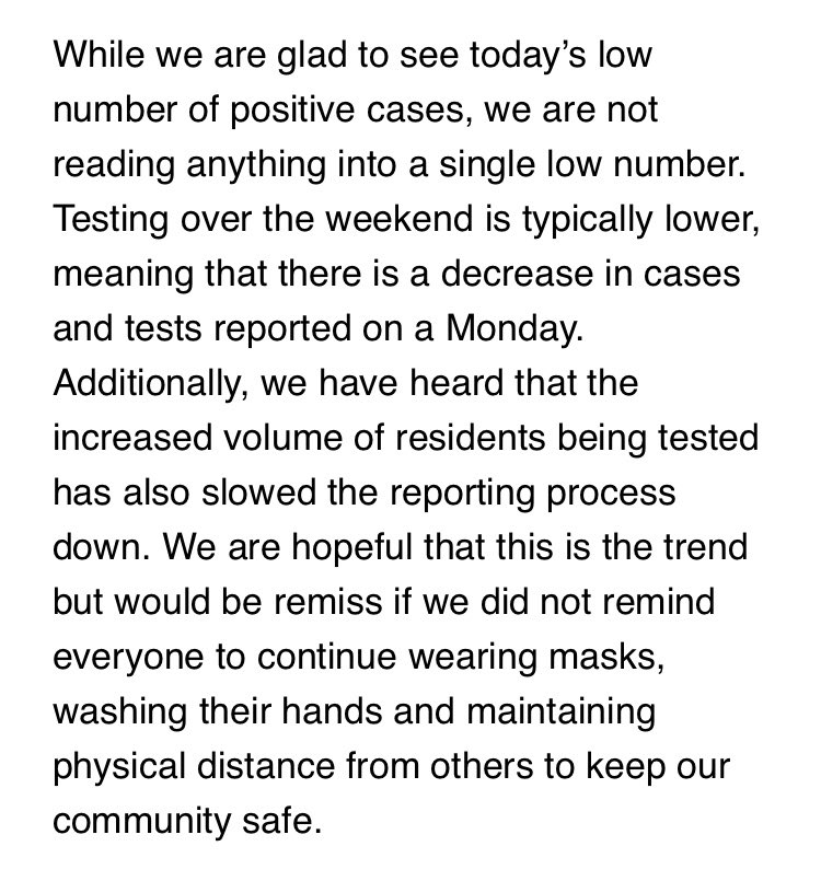 .@HealthAllegheny is also warning people not to read too much into today's case totals https://t.co/mKvYD0H3xa