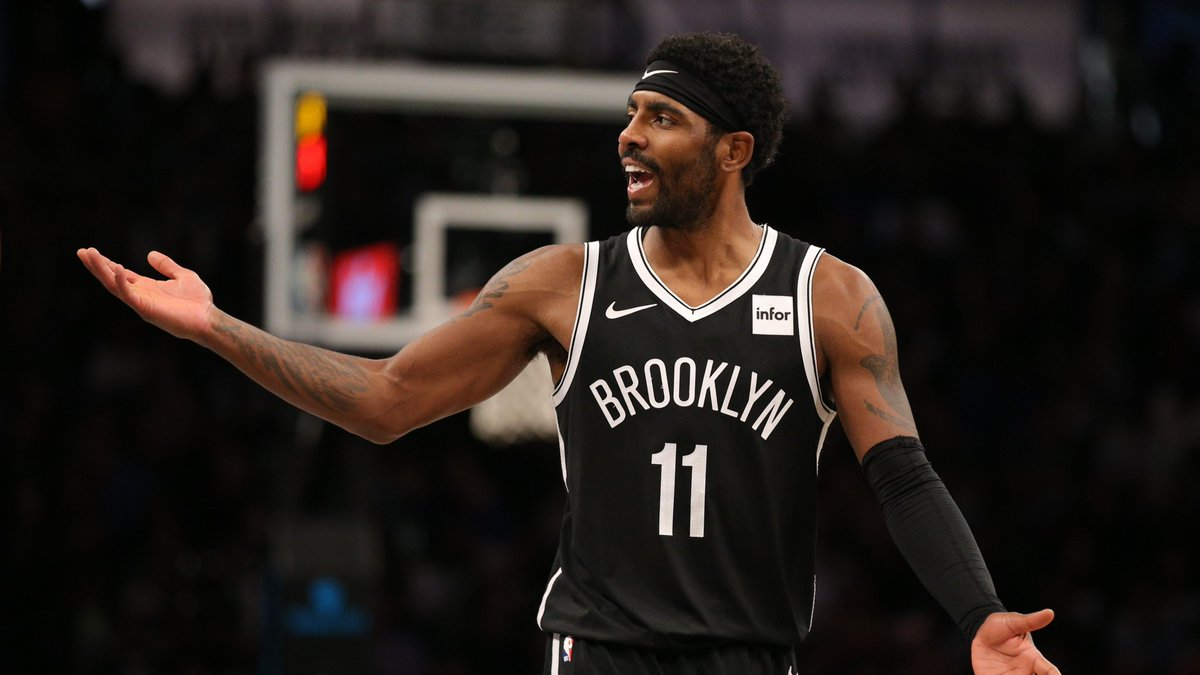Kyrie Irving to critics: My life is 'more than just shooting a damn basketball' #WeGoHard #BrooklynNets #Brooklyn #Nets #NBA #NBATwitter #NBATwitterLive #KyrieIrving  Read More- https://t.co/OmRQXfGOBK https://t.co/nRDBLpTqDb