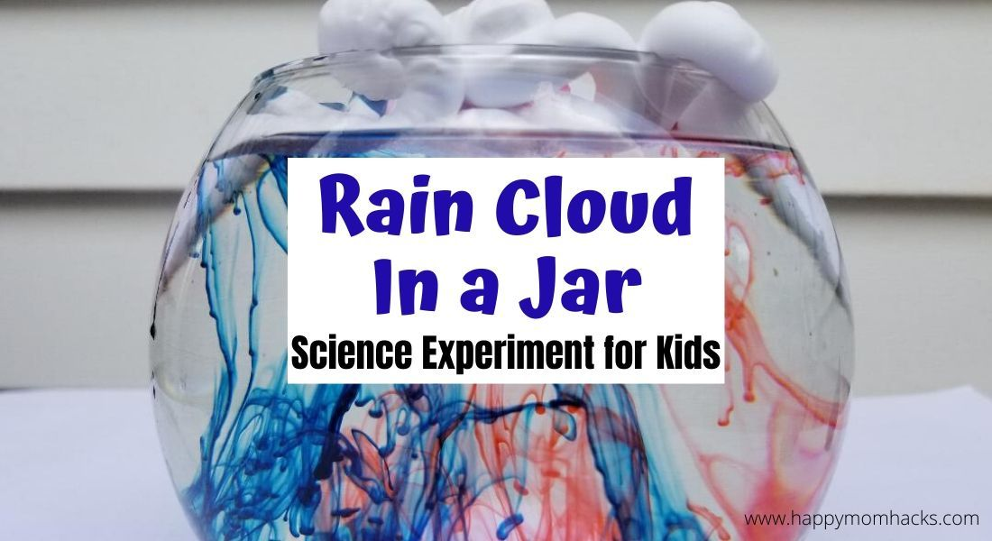Fun STEM Experiment for kids at home - Rain Clouds in a Jar. All you need is shaving cream, water, and food dye. Kids will want to do this over & over again. #STEMeducation #STEM #scienceforkids #kidsactivities #kidsinstem buff.ly/2ZVZRmj