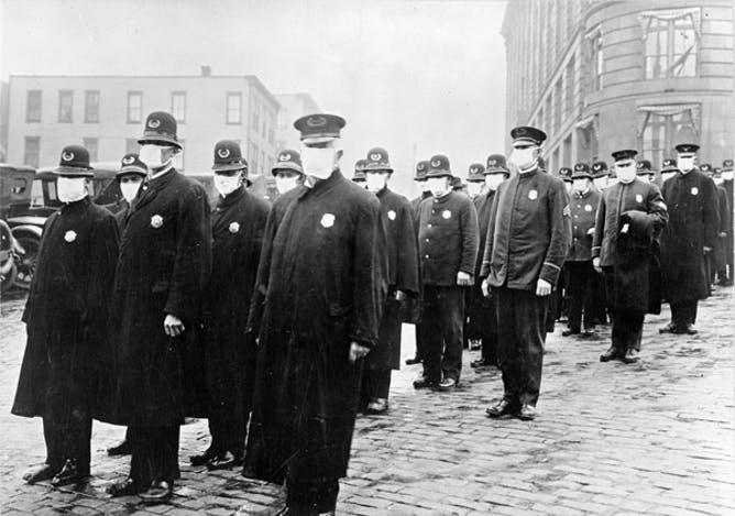 Mask resistance during a pandemic isn't new – in 1918 many Americans were 'slackers. https://bit.ly/2ZmrJks #Mask #Covid_19  #COVID2019 #Coronavirus #COVID19 #COVID19seattle #coronaviruswashington #CoronaVirusUpdatepic.twitter.com/EM0qIVZ8sd